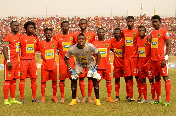 CAFCC: This is how Asante Kotoko line up against Zesco United