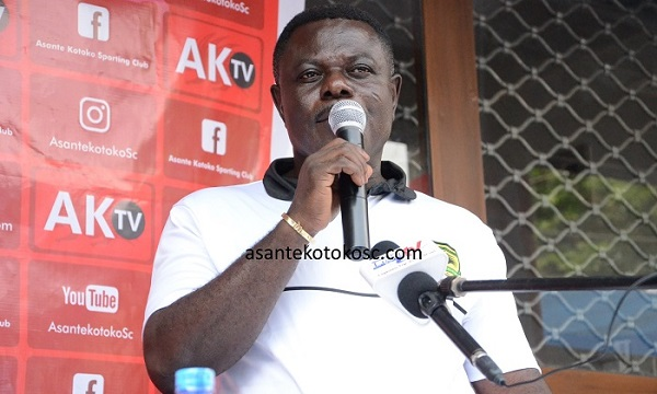 Asante Kotoko' boss Dr Kwame Kyei sends message to players