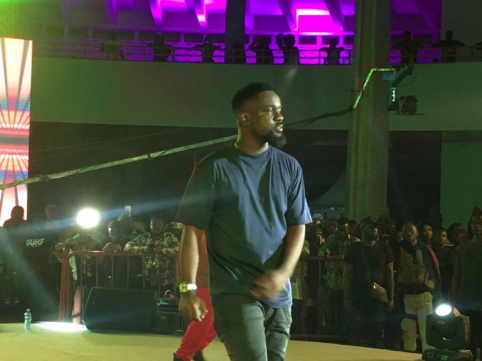 VIDEO: Sarkodie's amazing performance at the #TinaFest19