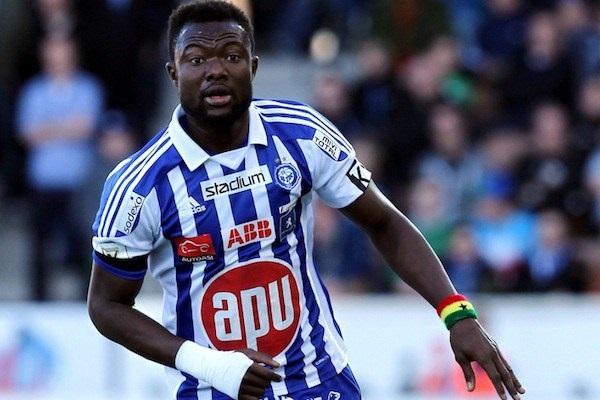 Ghana international Gideon Baah signs for former club FC Honka