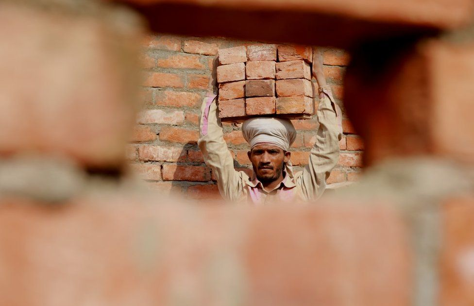 Behind India's construction boom: 'We risk our lives to build your homes'