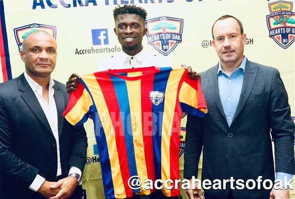 Transfer: Hearts Of Oak sign ex-Sharks ace Charles McCarthy