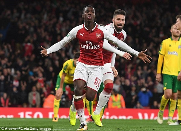 REPORTS: Arsenal' Eddie Nketiah has turned down opportunity to play for Ghana