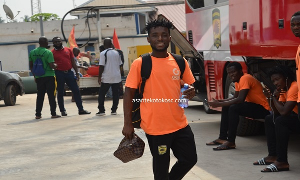 PHOTOS: Kotoko leave Kumasi for Accra ahead of Cameroon trip