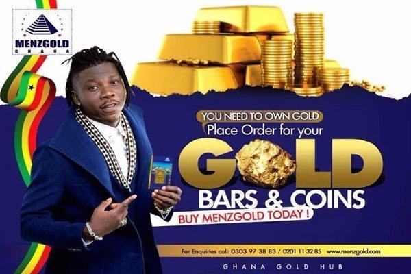Ghanaian celebrities who endorsed Menzgold