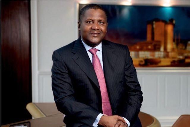 Aliko Dangote retains his place as Forbes 2019 richest man in Africa