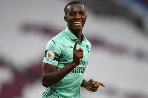 Arsenal' starlet, Eddie Nketiah' father refutes son ditching Ghana for England