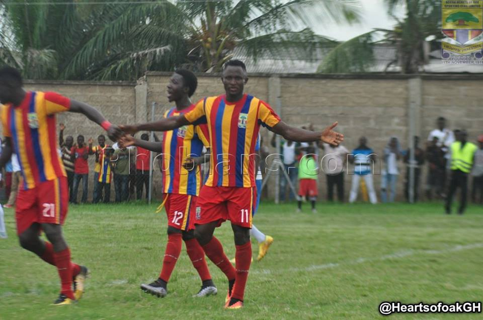 Match Report: Hearts of Oak beat beat Fankobaa 2-0 in a friendly