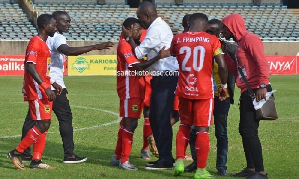 CAF CC: C.K Akonnor eulogizes his players after win over Coton Sport