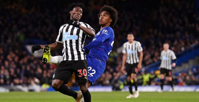 Ghanaians Abroad: Newcastle fans react to Christian Atsu's display vs Chelsea