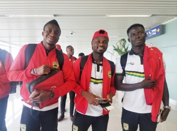 Asante Kotoko land in Ghana after an emphatic win in Cameroon