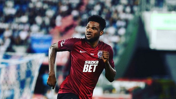 Ghana striker Benjamin Tetteh linked with Everton