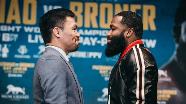 BOXING: Manny Pacquiao to fight 11 years young Adrien Broner