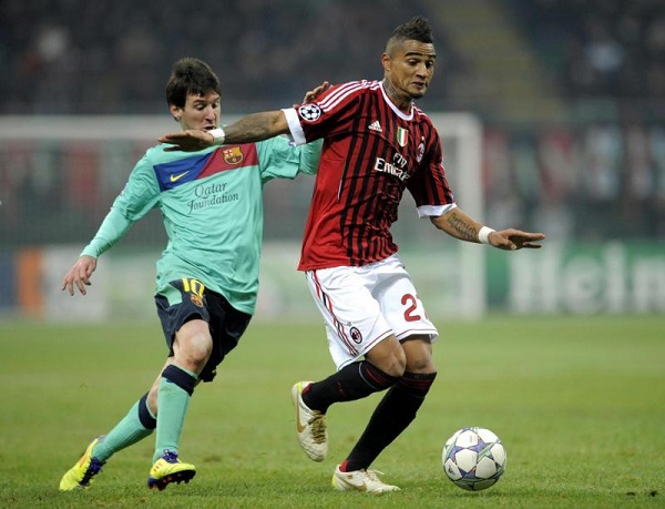 Ghanaian forward Kevin-Prince Boateng set to seal a loan move to Barcelona from Sassuolo