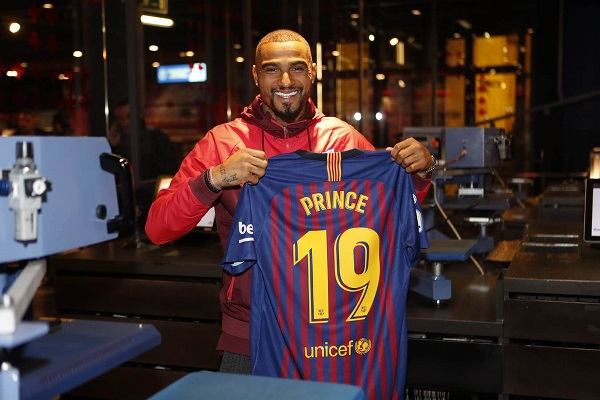 WATCH LIVE: Kevin-Prince Boateng' official presentation at FC Barcelona