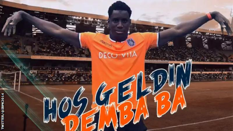 Former Chelsea striker Demba Ba signs for Turkish side Istanbul Başakşehir