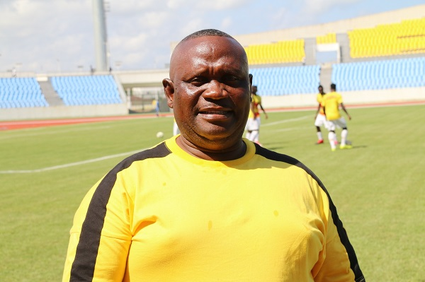 I'm yet to have my full team - coach Jimmy Cobblah
