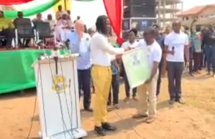 Ashaiman Municipal Assembly honors Stonebwoy