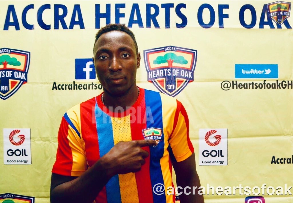 Hearts Of Oak Newbie Kordzi aims for goalking award in special competition