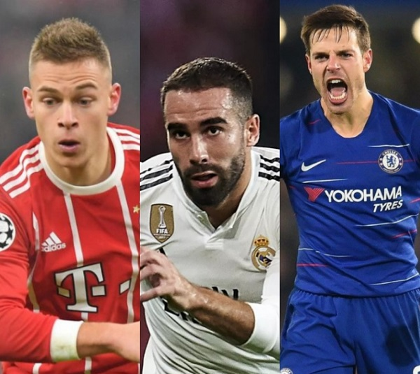 Top 10 best right backs in the world at the moment