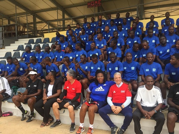 GFA integrity course ends as twenty referees receive FIFA badges at Sogakope