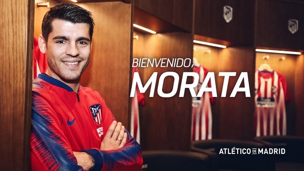 Alvaro Morata: Chelsea striker joins Atletico Madrid on loan