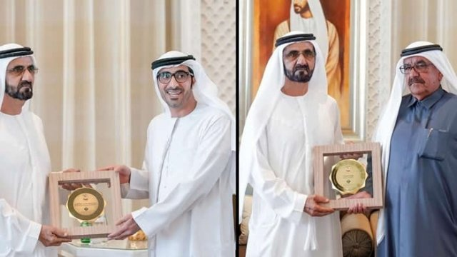 Dubai held a 'gender balance' awards, and every single winner is a man
