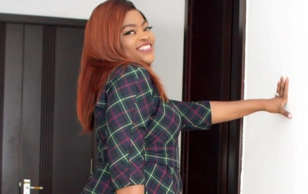 Funke Akindele shares adorable photos after welcoming her twin boys