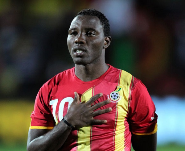 Kwadwo Asamoah reveals reason behind his Black Stars return