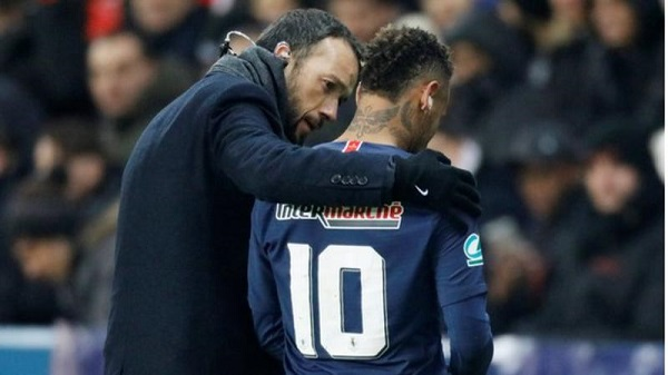 Neymar: PSG forward out of Manchester United Champions League tie with broken metatarsal