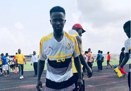 U-20 Cup of Nations: Black Satellites striker, Arhin calls for support from Ghanaians ahead of tournament