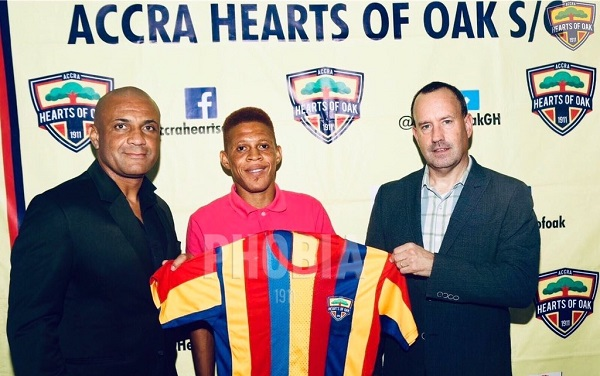 Transfer: Hearts Of Oak signs ex-PAOK defender Sumaila Larry Ibrahim