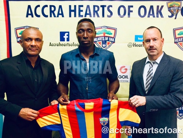 Transfer: Hearts Of Oak sign striker Kofi Kordzi from second-tier side Royal FC