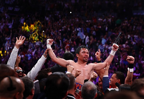 Pacquiao beats Keith Thurman to claim title