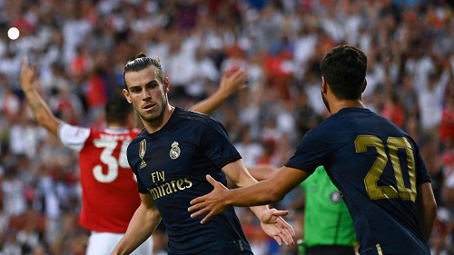 Friendly: Bale returns as an unlikely prodigal son to score in Los Blancos' win