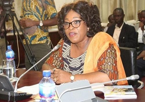 Minister for Foreign Affairs and Regional Integration, Madam Shirley Ayorkor Botchwey