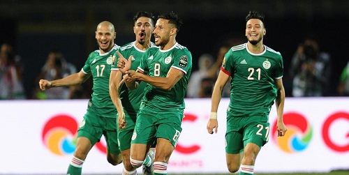 AFCON 2019: Desert Foxes prey on the Elephants to book Semis spot