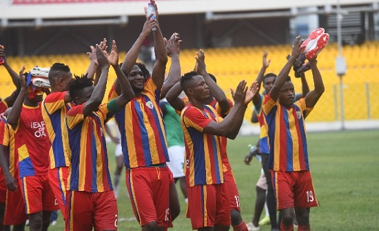 Hearts of Oak to resume training in July ending