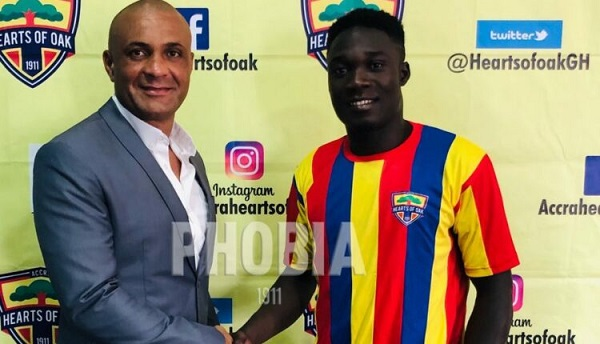 Hearts reach agreement with Karela to sign Dominic Eshun