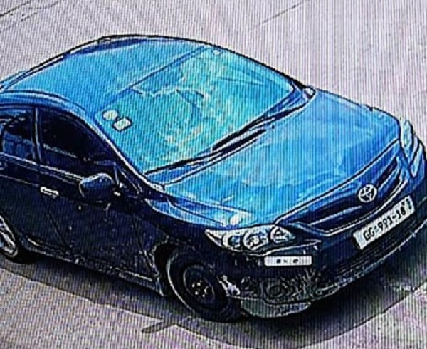 The Toyota Corolla used to rob the Tema Shell Station