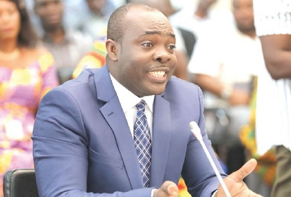 Minister for Youth and Sports Isaac Asiamah