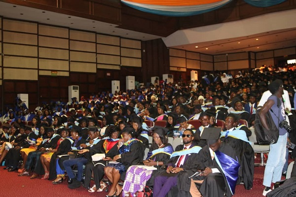 Snapshot of GIJ graduates at the 13th Congregation ceremony, at the AICC