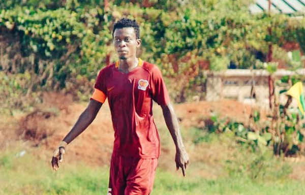 Hearts of Lions captain Frank Akoto