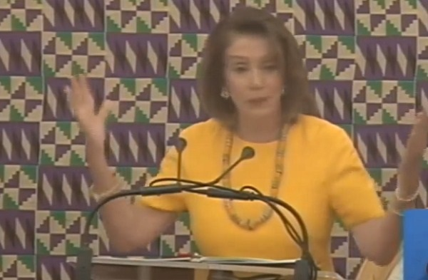 Speaker of the US House of Representatives Nancy Patricia Pelosi
