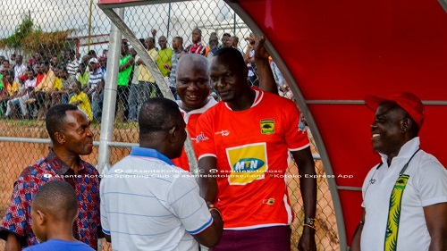I'm yet to adapt to Kotoko's playing style - New signee Abege calls for patience