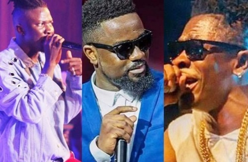 AFCON 2019: Shatta Wale joins Stonebwoy, Sarkodie and others to celebrate Black Stars win