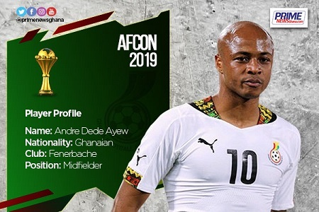 AFCON 2019: Profile of Andre Ayew