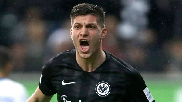 Luka Jovic joins Real Madrid