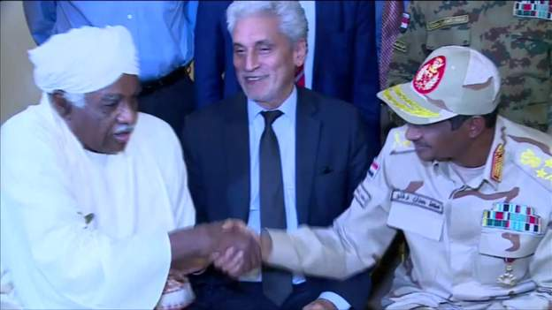 Sudan military and opposition agree transition deal