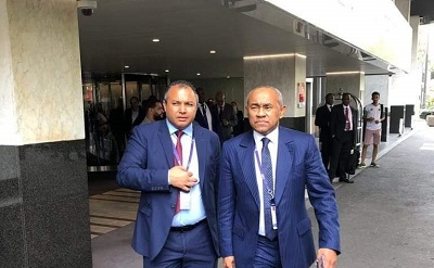 CAF President Ahmad Ahmad freed without charge